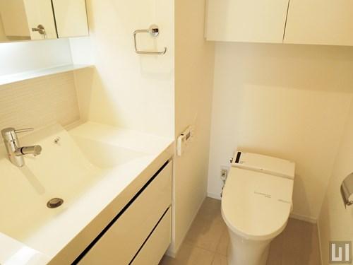 Eタイプ - 洗面台・トイレ
