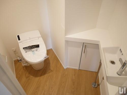 4階-6階A号室タイプ - トイレ