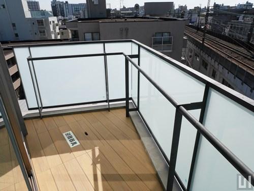 5階-6階C号室タイプ - バルコニー