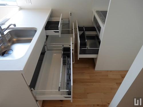 1LDK 44.65㎡タイプ - キッチン・収納