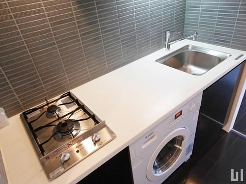 1R 25.40㎡タイプ - キッチン・洗濯機