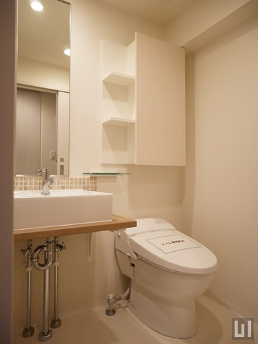 Bタイプ - 洗面台・トイレ