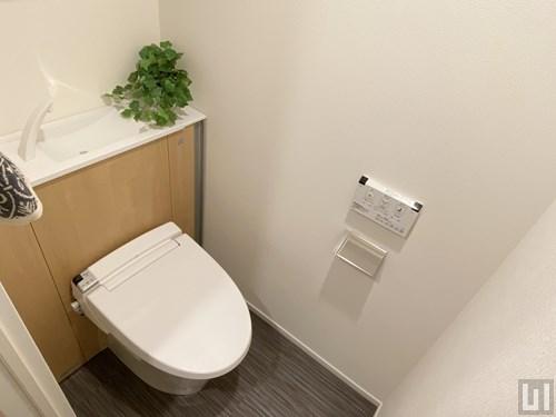 Gタイプモデルルーム - トイレ