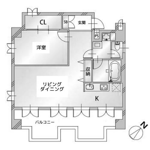 ブレアハウス - 間取り図