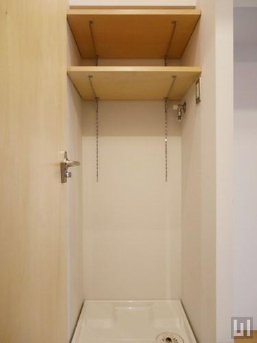 リノベーション - 室内洗濯機置き場