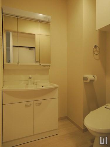 1K 26.40㎡タイプ - 洗面台・トイレ