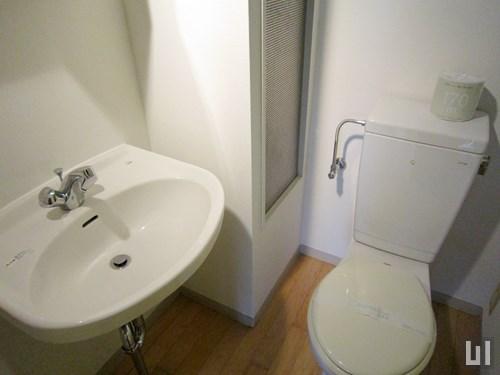 1Rタイプ - 洗面台・トイレ