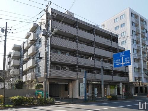 カスタリア三宿 - マンション外観