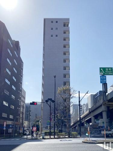 カスタリア日本橋 - マンション外観