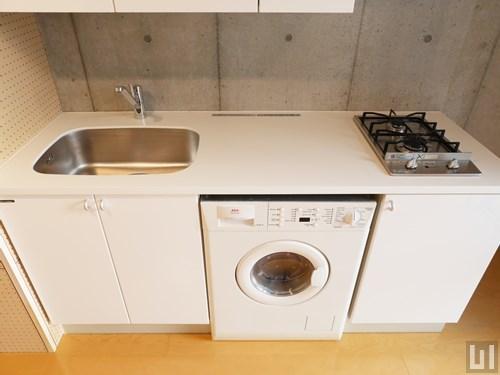 1LDK 49.93㎡タイプ - キッチン・洗濯機