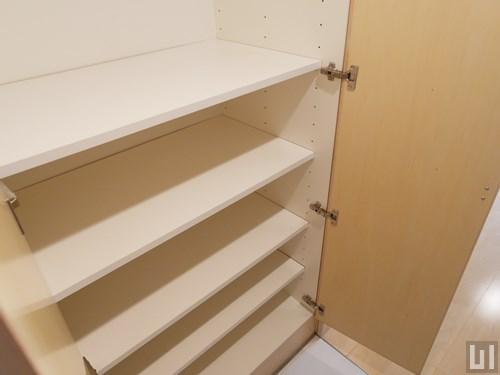 1LDK 49.93㎡タイプ - 廊下・収納棚