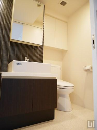 30Aタイプ - 洗面台・トイレ