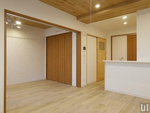 北欧スタイル・01号室 - リビング・洋室