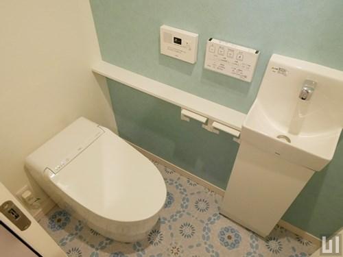 地中海スタイル・01号室 - トイレ