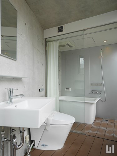 1R 25.08㎡タイプ - 洗面室・バスルーム
