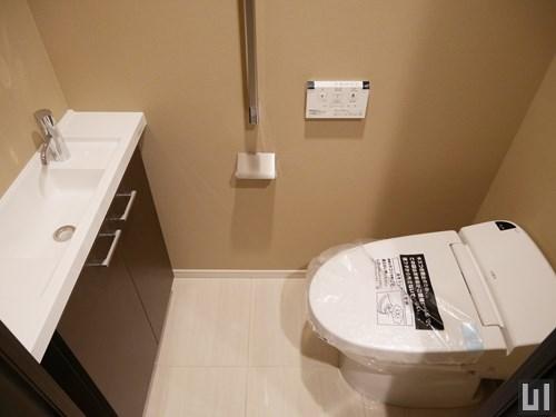 1LDK 44.91㎡タイプ - トイレ