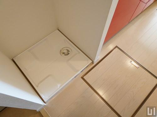 Dタイプ - 洗濯機置き場