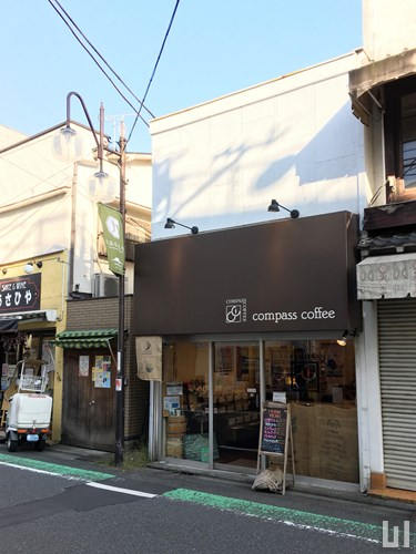 compass coffee 九品仏店