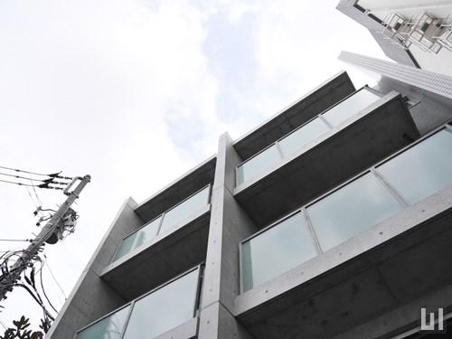 コートモデリア六本木 - マンション外観