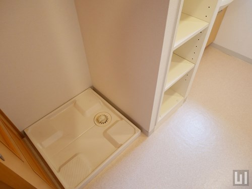 1K 53.66㎡タイプ - 洗濯機置き場