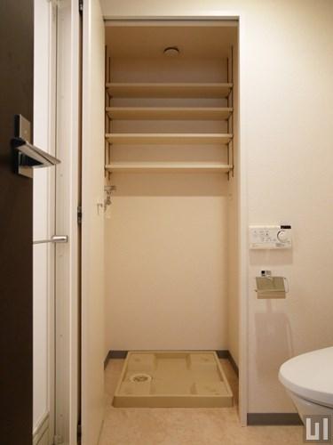 1K 42.82㎡タイプ - 室内洗濯機置き場