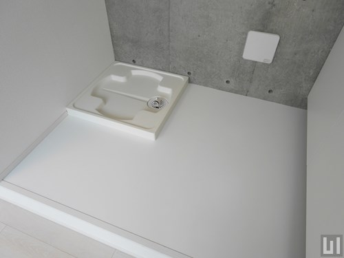 B棟02号室タイプ - 洗濯機置き場