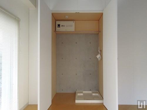 1R 27.40㎡タイプ - 室内洗濯機置き場