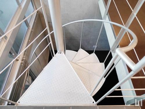 Fタイプ - らせん階段