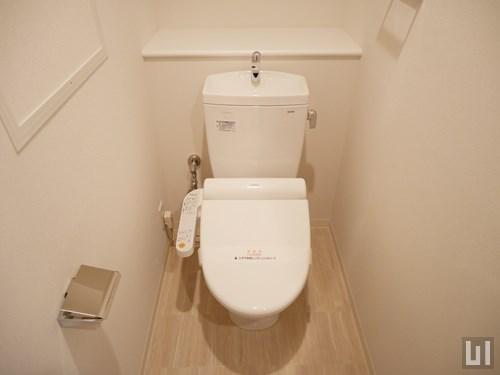 1LDK 37.68㎡タイプ - トイレ
