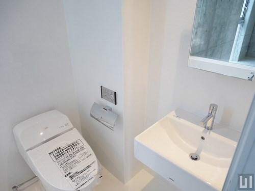 1R 32.96㎡タイプ - トイレ・洗面台