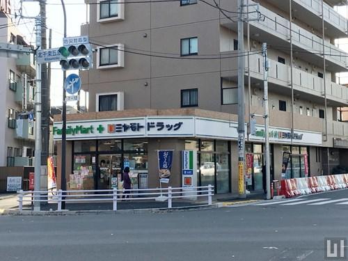 ファミリーマート+ミヤモトドラッグ 北千束店