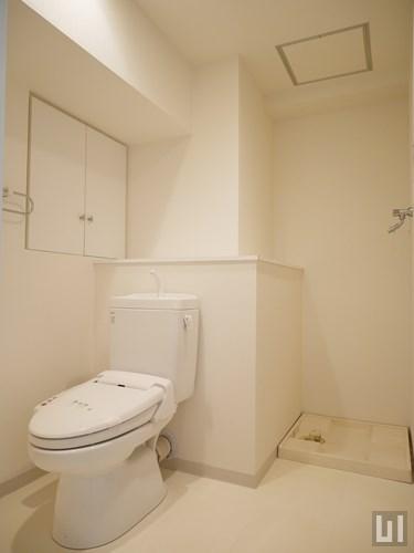 1R 38.73㎡タイプ - トイレ・洗濯機置き場