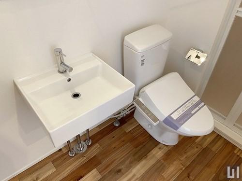 1LDK 33.11㎡タイプ - 洗面台・トイレ