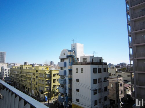 1DK 25.58㎡タイプ - バルコニーからの眺め