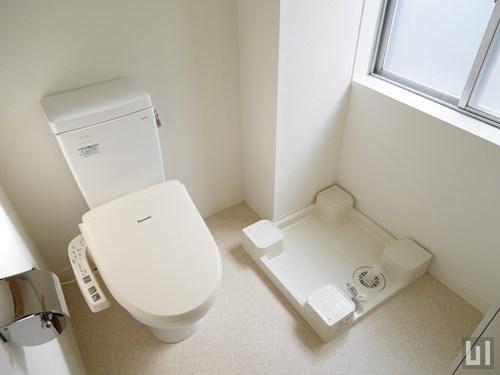 1R 29.01㎡タイプ - トイレ・洗濯機置き場
