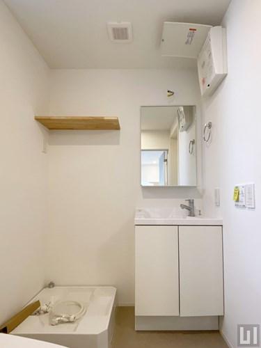 W棟1R 21.24㎡タイプ - 洗面室