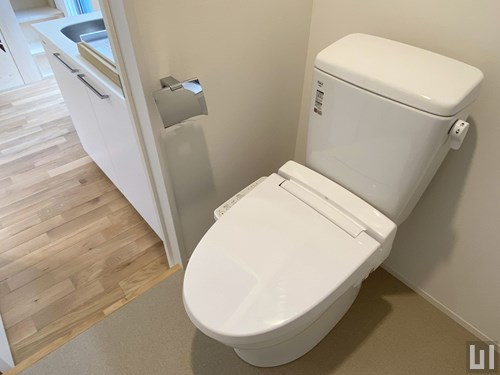 W棟1R 21.24㎡タイプ - トイレ
