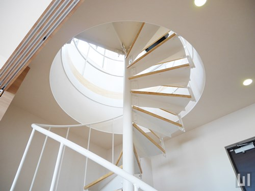 601号室 - らせん階段