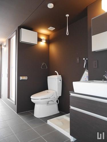 Cタイプ - 洗面室・トイレ
