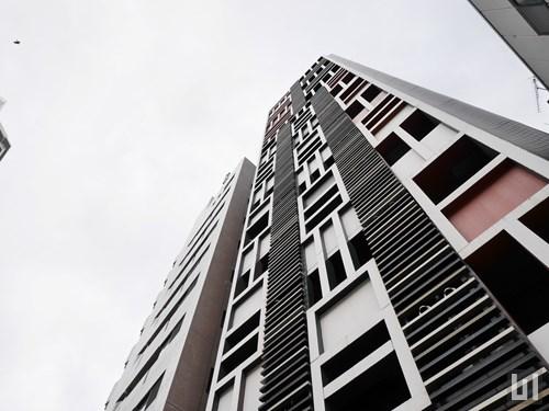 イプセ新宿若松町 - マンション外観