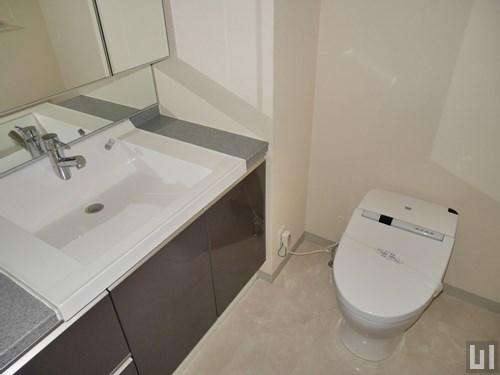 1LDK 50.40㎡タイプ - 洗面台・トイレ