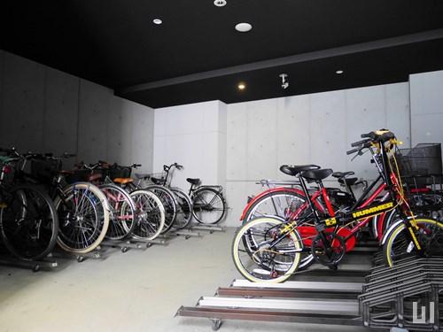 KDX大伝馬レジデンス - 駐輪場