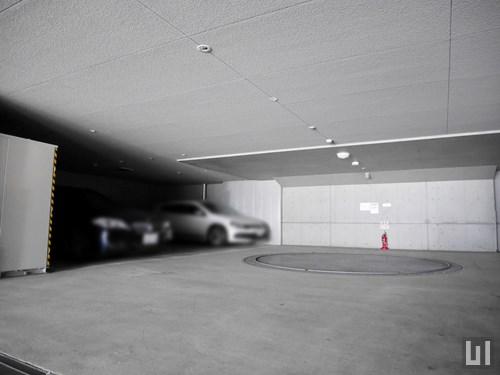 KDX大伝馬レジデンス - 駐車場