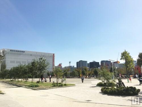錦糸公園 / 墨田区総合体育館
