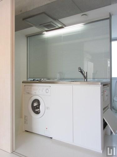 1R 35.12㎡タイプ - キッチン・洗濯機
