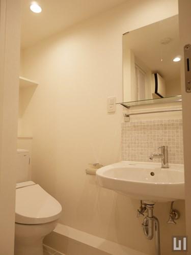 1LDKメゾネット 39.09㎡タイプ - 洗面室