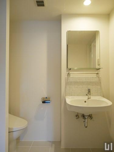 1LDKメゾネット 37.19㎡タイプ - 洗面室