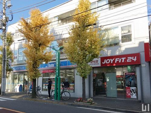 ローソン 目黒洗足駅前店 / JOYFIT24 洗足