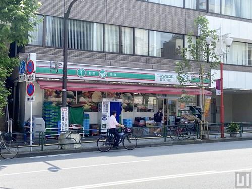 ローソンストア100 新宿早稲田通店