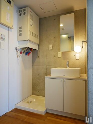 A'タイプ - 洗面台・洗濯機置き場